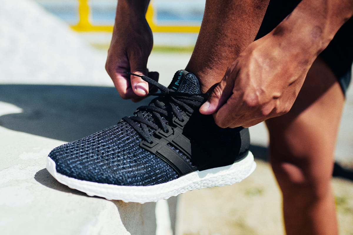 09190a4a4157c adidas  New Parley UltraBOOST Takes on a Deep Ocean Blue Colorway