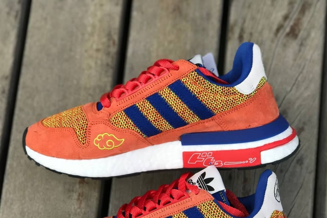 4479052b16261 Here s a Closer Look at the adidas ZX 500 RM  Son Goku  - Freshness ...