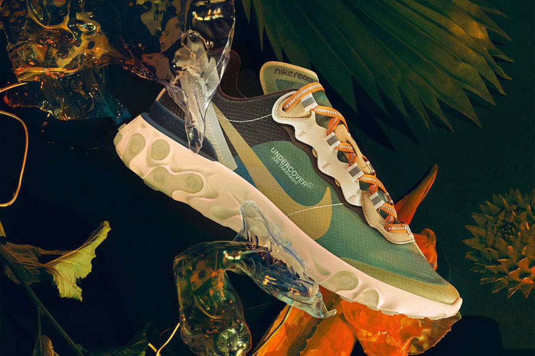 8fffce5c Here's Where You Can Buy the UNDERCOVER x Nike React Element ...