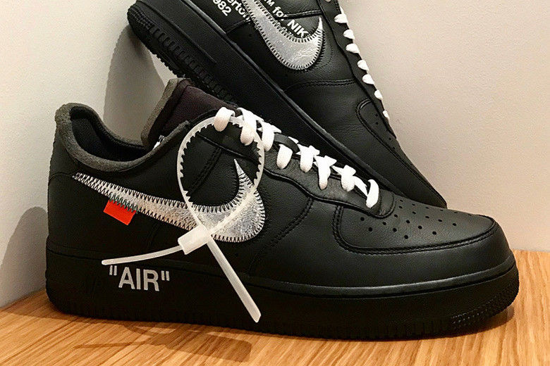 55255add62e This Upcoming Virgil Abloh x Nike Air Force 1 Is a MoMA Collaboration