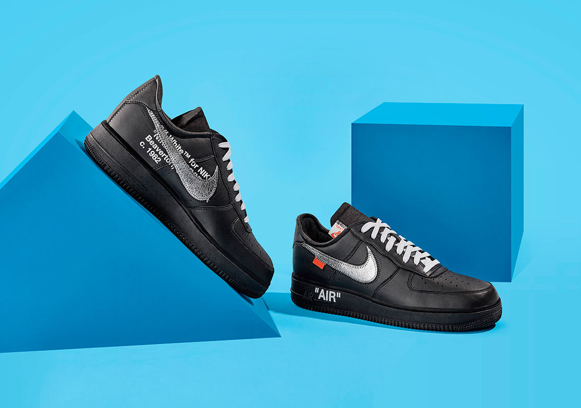 c6ac62fc2d8 This Virgil Abloh x Nike Air Force 1 Is Dropping as Part of a MoMA ...
