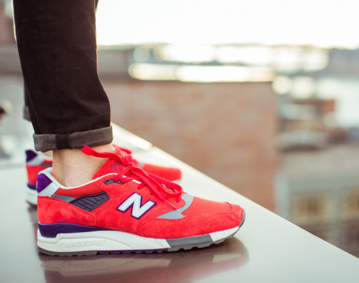 J. Crew x New Balance 998 Independence Day Trainers J. Crew x New Balance 998 Independence Day Trainers new images