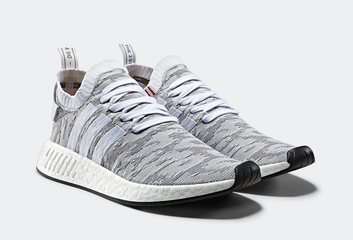 online store d774d 68cf8 adidas Originals Dresses the NMD R2 PK With an Abstract ...