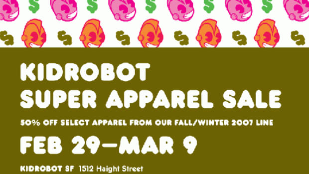 Kidrobot - Super Apparel Sale
