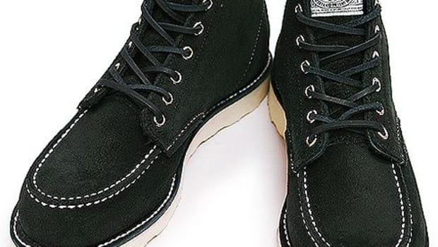 NEIGHBORHOOD (NBHD) x Red Wing - Black Moc. Boots