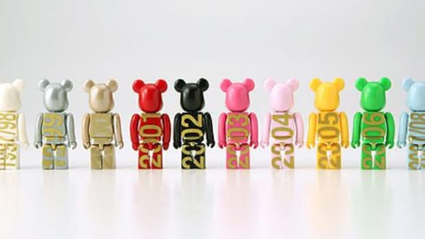 Fendi x MEDICOM TOY   Baguette BE@RBRICK Set