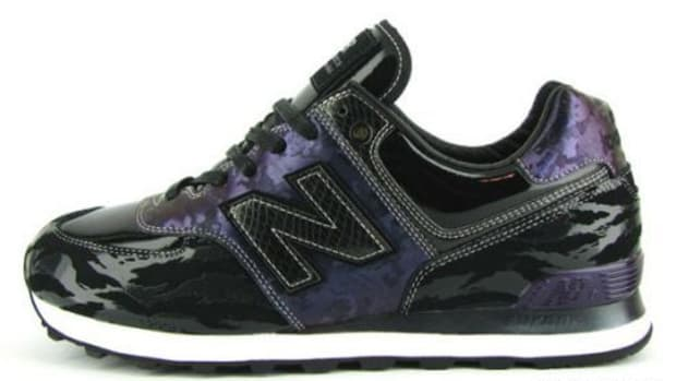 SBTG & Methamphibian x New Balance 576 for Leftfoot - Heaven & Hell edition.