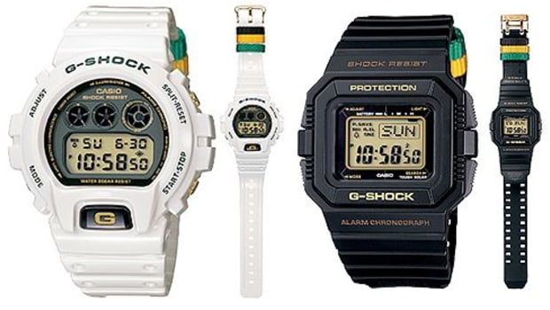 Casio G-Shock - Rastafarian Pack