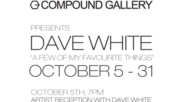 Event Reminder - Dave White @ Compound - 0