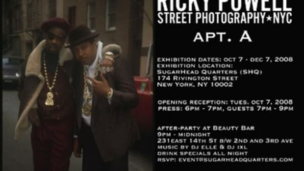 Ricky Powell Presents: Apt. A | Street Photography NYC