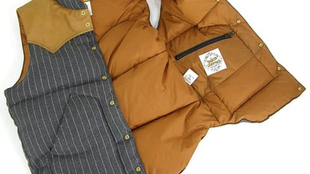 Rocky Mountain Featherbed x Waste(twice) - VOYAGE WT Down Vest