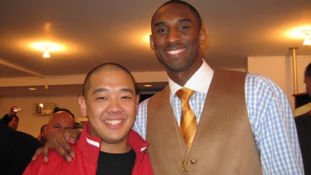 Jeff Staple and Kobe Bryant