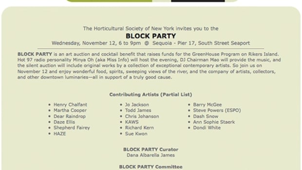 HSNY - Block Party Contemporary Art Silent Auction