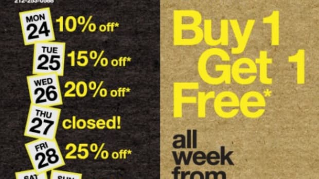 Reed Space & Reed Annex - Black Friday Sales