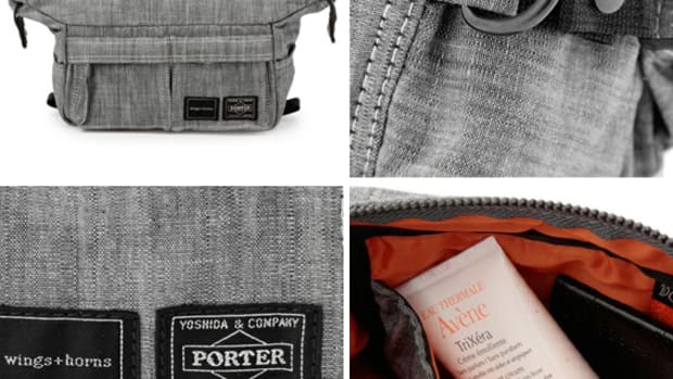 wings and horns x Porter Pouch front