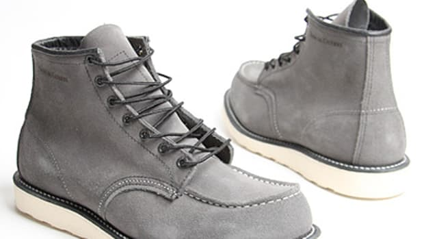 Red Wing Shoes Company x Nom De Guerre - Trench Protection Boots | Available @ oki-ni