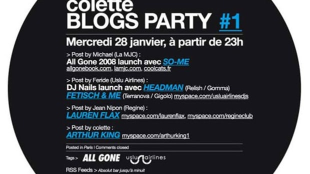 Colette - BLOGS PARTY #1