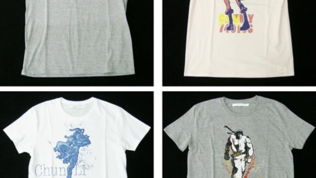 HEROISM x CAPCOM - Street Fighter IV T-Shirts