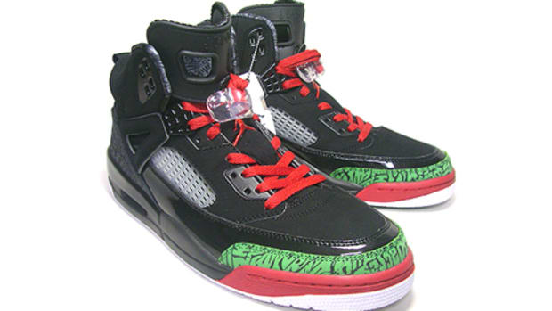 Air Jordan Spiz'ike - Black/Varsity Red-Classic Green | Detailed photos - 0