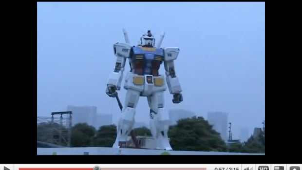 gundam-life-size-figure-video