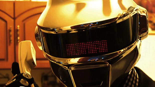 Daft Punk - Self-Made Thomas Bangalter Helmet | By Mauricio Santoro - 0