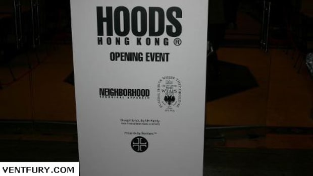 Hoods Hong Kong - Grand Opening Event