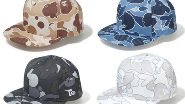 A Bathing Ape (BAPE)  (BAPE) x New Era - BAPE Camo Cap