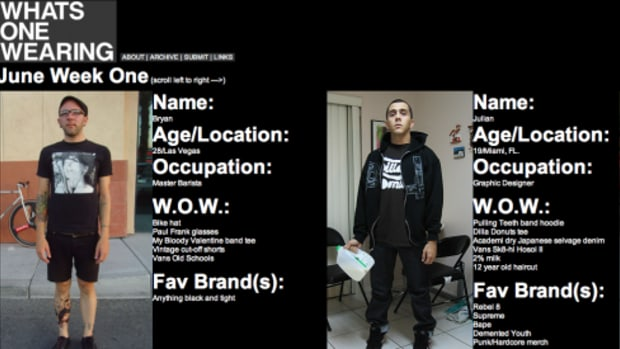 What One's Wearing - New Website - 0