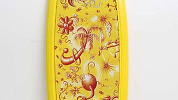 Kenny Scharf x Eli Tahari - Floatungle Surfboard