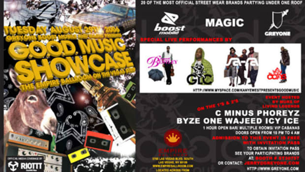 G.O.O.D. Music Showcase @ PROJECT/Magic - 0