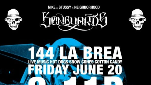 Nike x Stussy x NEIGHBORHOOD - Boneyards Event - 0