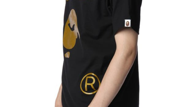 Face T-Shirt Gold Black 5