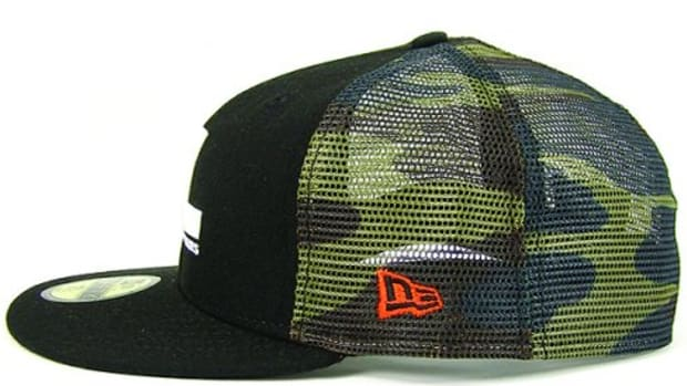 FUTURA LABORATORIES (FL) x New Era - FL Logo Camo Mesh 59FIFTY Cap