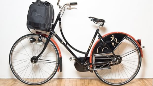 Evisu x Grand 1888 - Bespoke Cruiser Bicycle
