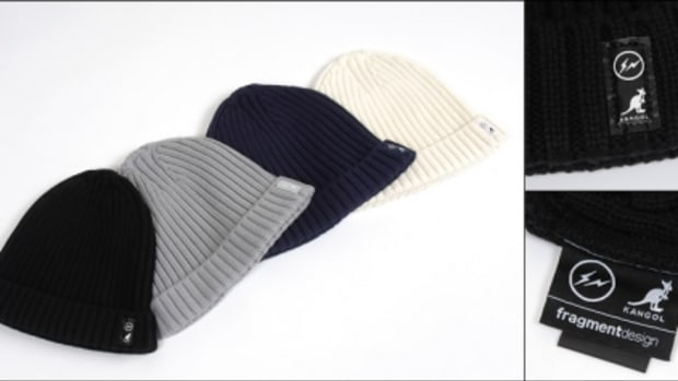 KANGOL x fragment design - Organic Cotton Pull-On Knit Cap