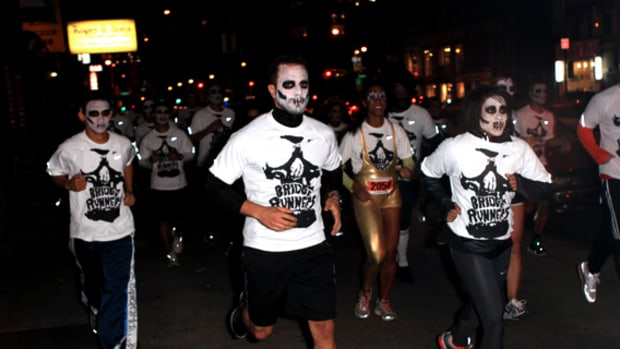 Nike Stadium x NYC Bridge Runners   Running Scared Halloween Night Run | Event Recap