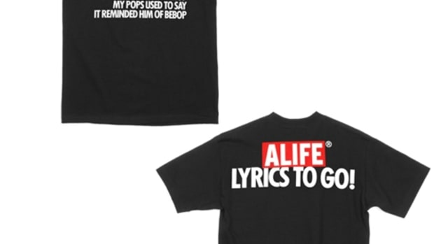 ALIFE x Q-Tip - Lyrics to Go! T-Shirts