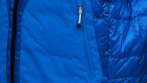 Down Jacket Blue 1