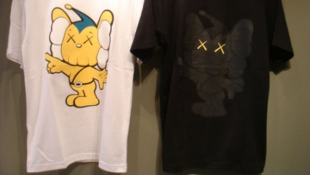 OriginalFake - KAWS JPP Toy T-Shirt + Stickers - 0