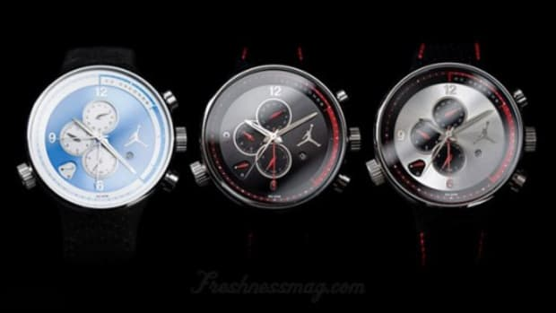 Jordan XX3 Alarm Chrono Watch Collection