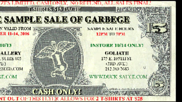 Sample Sale @ Garbege - 0