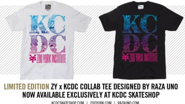 Zoo York x KCDC - Limited T-Shirt by Raza Uno
