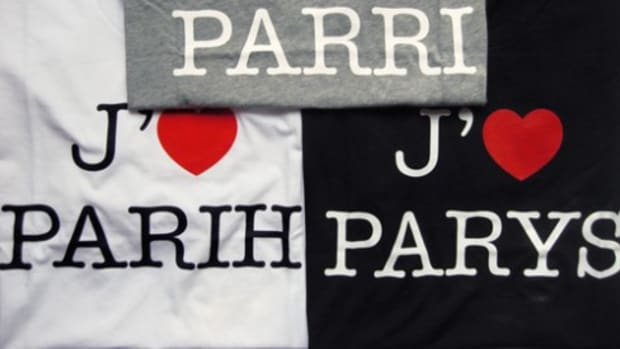 "Colette x GAP - ""I Love Paris"" T-Shirts by Claude Closky - 0"
