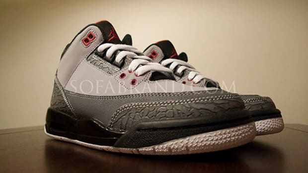 Air Jordan III (3) Stealth   GS Sample | Preview