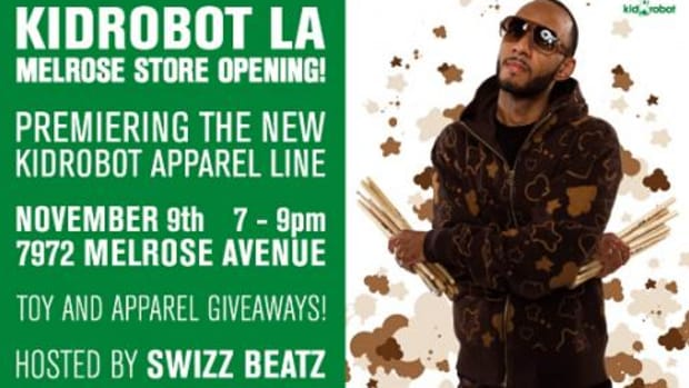 Kidrobot LA Opens on Melrose - Nov 9th - 0