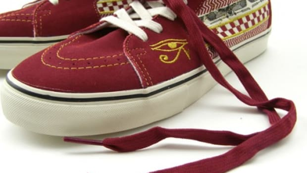 VANS Vault - Egyptian Warrior Pack - Sk8-Hi LX Textile