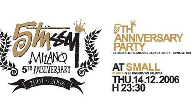 Stussy Milan - 5th Anniversary Party - 0