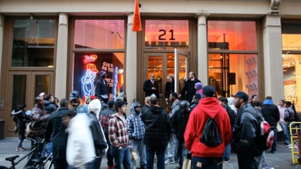 Nike Sportswear - 21 Mercer Street - Busy P & SO-ME P-ictionary Event