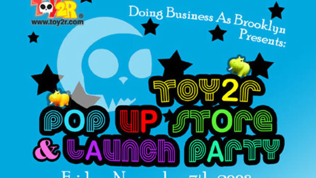 Toy2R Pop-Up Store at DBA Brooklyn