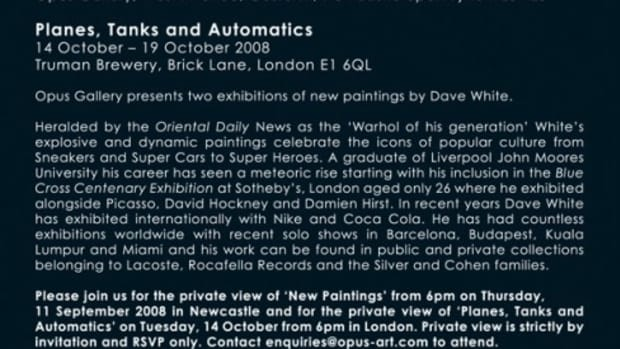 Dave White - Planes, Tanks and Automatics